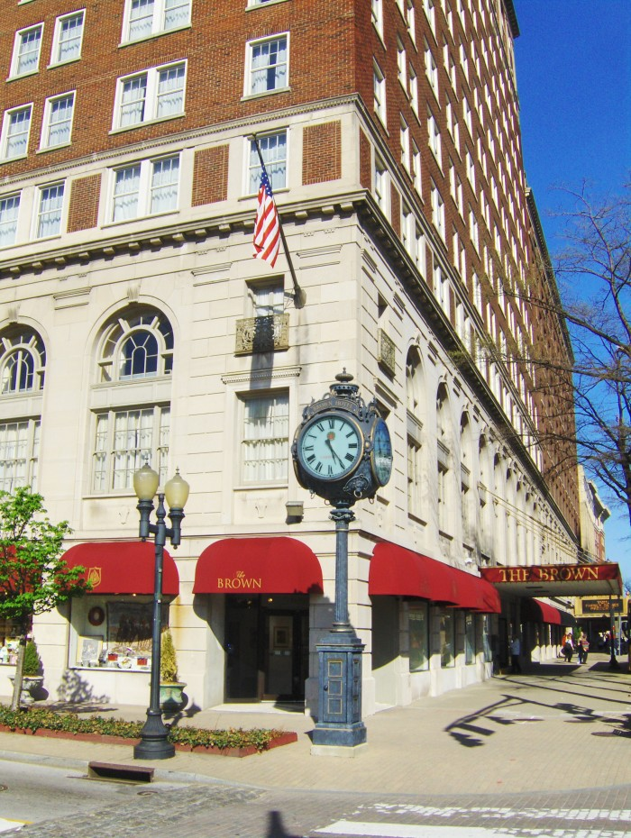 2. The Brown Hotel at 335 W Broadway in Louisville