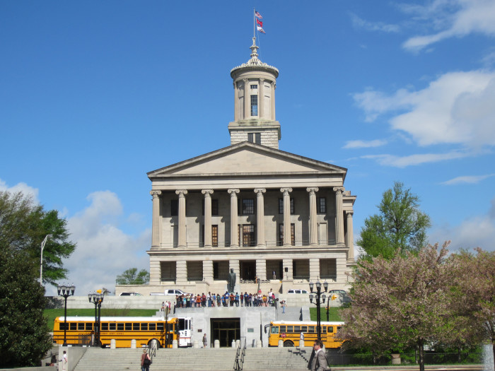 8) Also, the Tennessee Capital Building is one of the oldest capitals in the US that still operates.