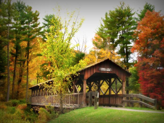 9. Thomas L. Kelly Covered Bridge