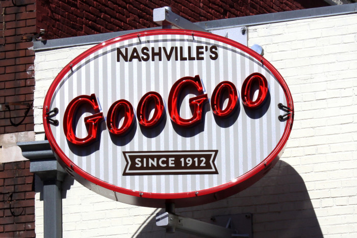 5) The first combination candy bar was created in Nashville.