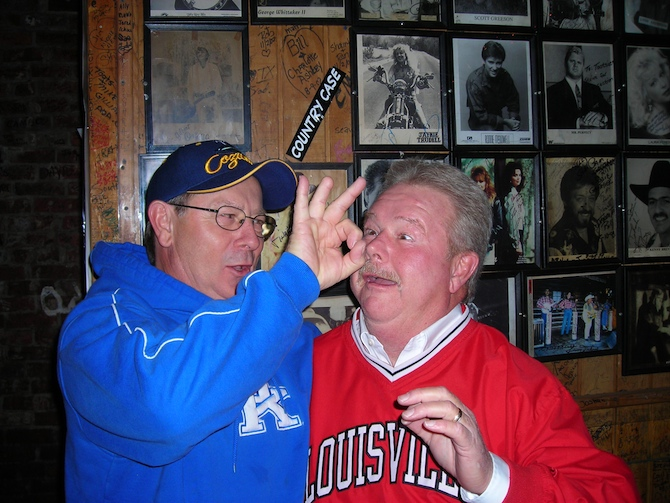 8. The intensity that hangs in the air whenever Kentucky and Louisville play against one another.