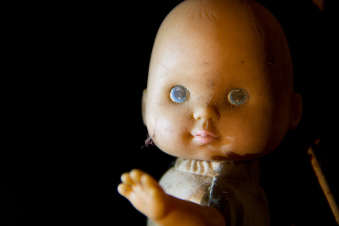 5. This baby doll was a bit too real - In a good way.