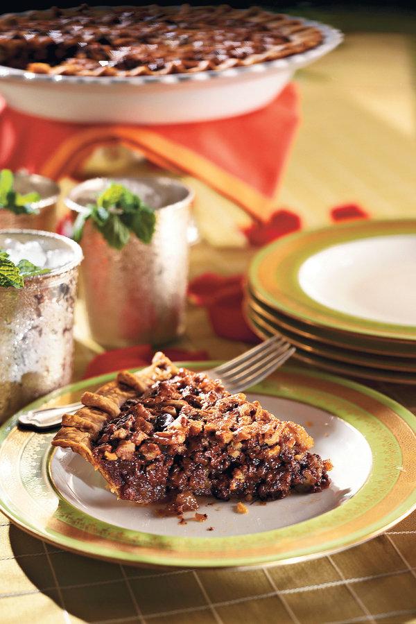 10. Thoroughbred Pie, aka Walnut Bourbon Fudge Pie