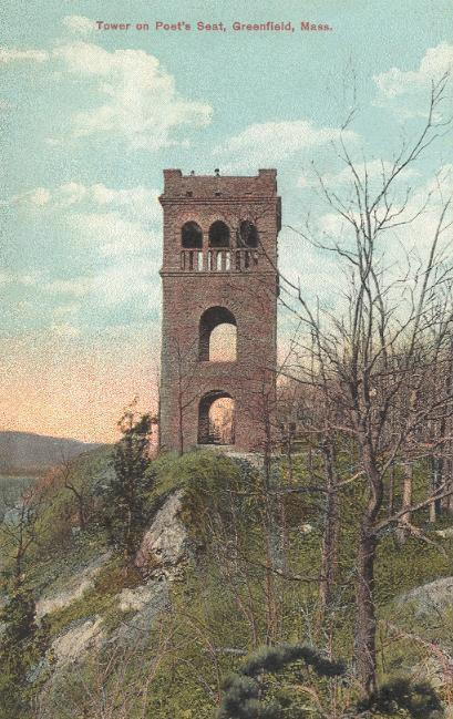 8. If you scramble up Poet's Seat Tower in Greenfield...