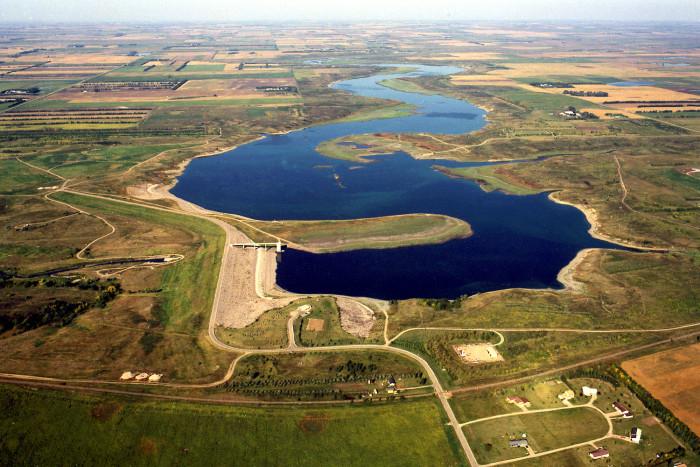 10. Jamestown Reservoir