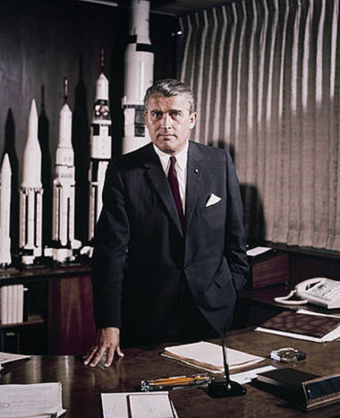 5. The idea for the U.S. Space & Rocket Center was first proposed by Dr. Wernher von Braun - a space architect credited with inventing the Saturn V rocket.