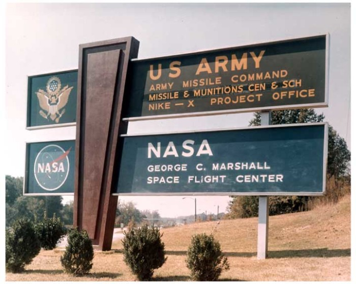 7. The Army's Redstone Arsenal donated the land the U.S Space & Rocket Center sits on.