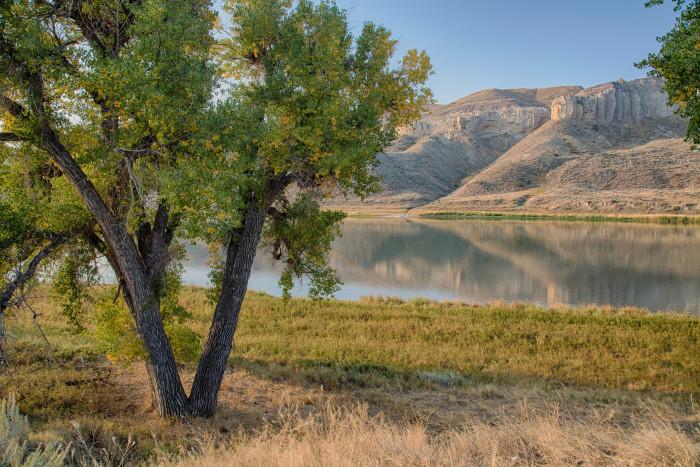 11. The Upper Missouri River Breaks National Monument in Central Montana.