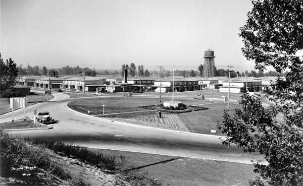 7. The lost city of Vandport, located between Portland and the Columbia River, 1942.