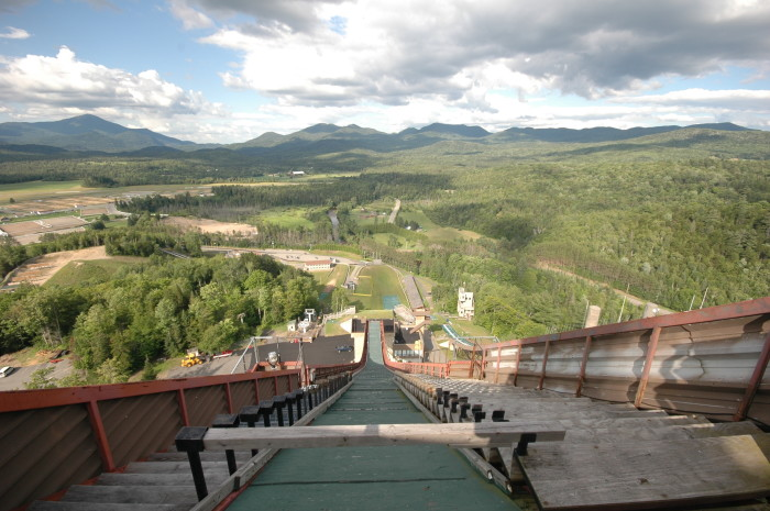 2. The view from the top of the Olympic Ski Jumps.