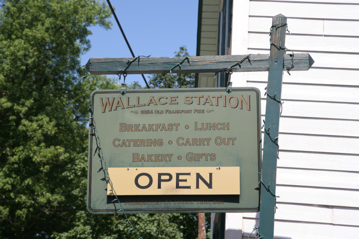 5. Wallace Station Deli and Bakery on 3854 Old Frankfort Pike in Versailles