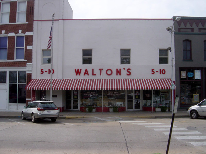 11. Walmart, 1950 - today (Walmart preserves the original store location as a Visitor's Center.)