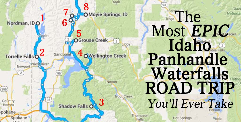 The Most Epic North Idaho Waterfalls Road Trip You Ll Ever