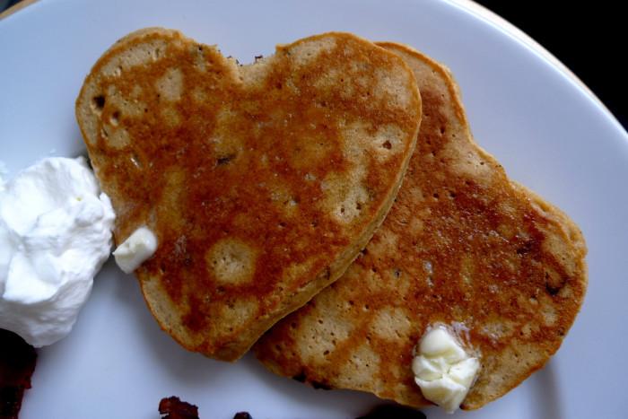 2. We do REAL good at the pancake game.