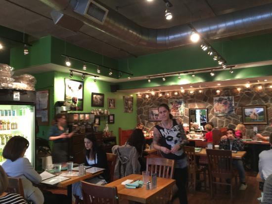 6) We have healthy restaurants, too.