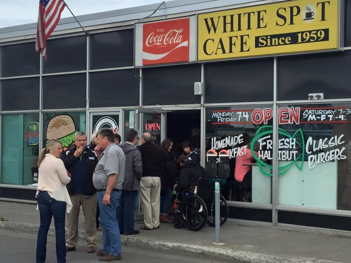 1. The White Spot Cafe (Anchorage)
