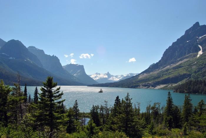 1. Wild Goose Island, Glacier National Park