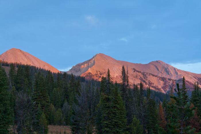 6. Woodward Mountain, Madison Range