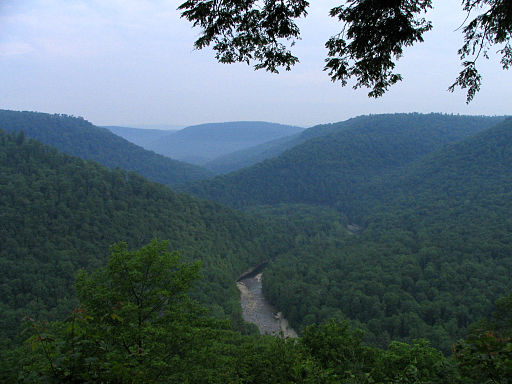 7. Worlds End State Park