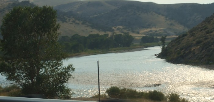8. The Yellowstone River