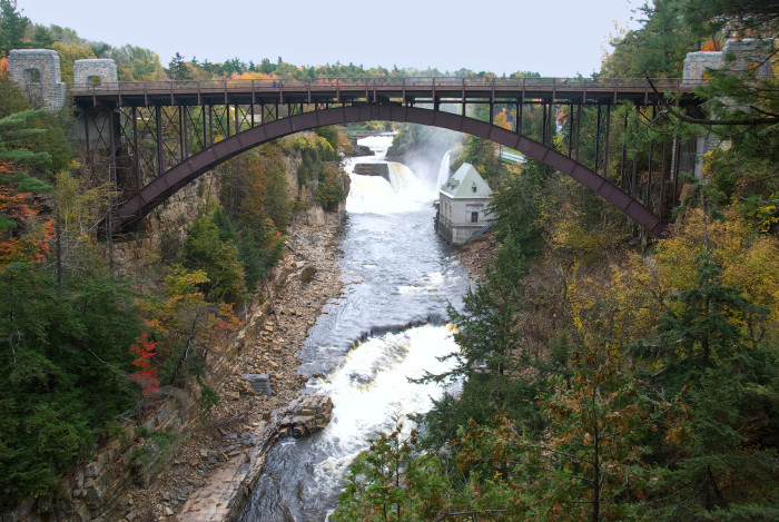 New York - Ausable Chasm in Keeseville