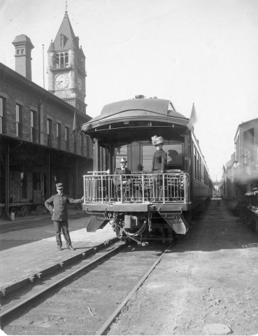 11.) Union Station (c. 1900).