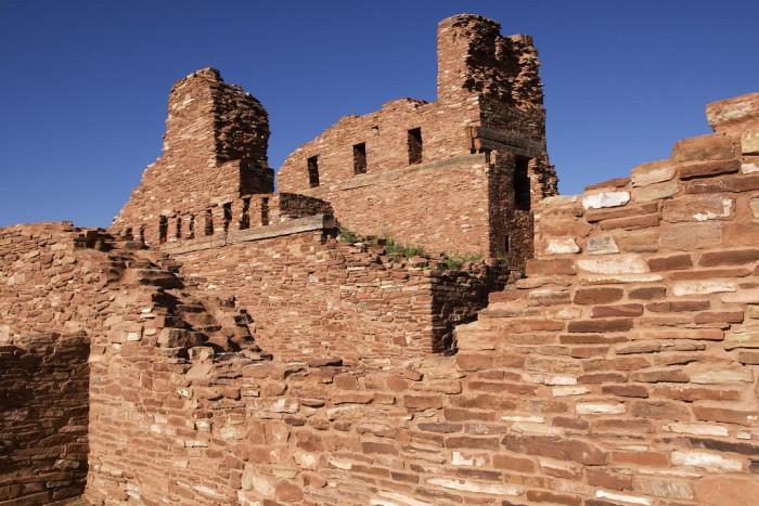 6. Abó Ruins Salinas National Monument, Mountainair