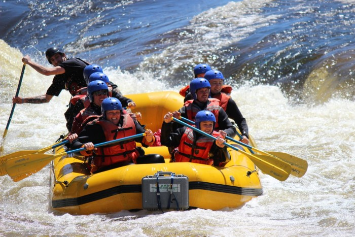 10. Come face to face with our bold and adventurous rivers during a day of Whitewater Rafting.