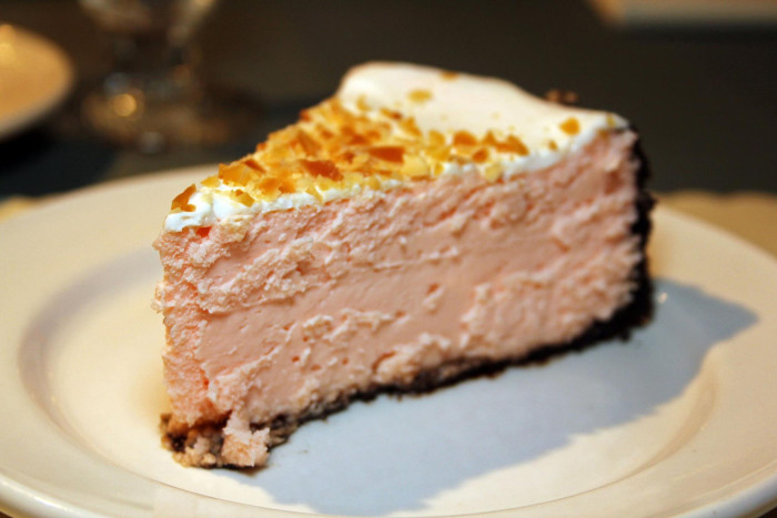 9. Chocolate and Almond Cheesecake at The Tavern Restaurant in State College, PA