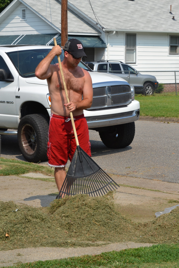 8. They're always ready to lend a hand and get the job done - even in the heat of the summer.