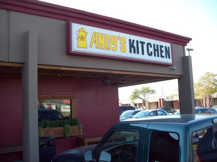 8. Andy's Country Kitchen (Corpus Christi)