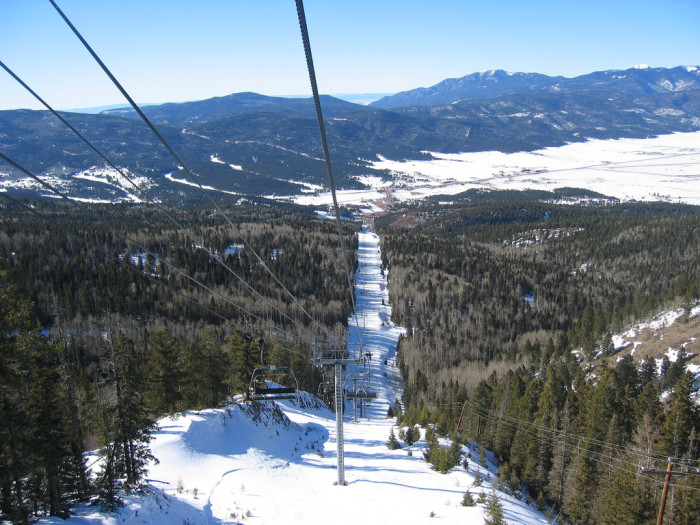 2. The ski lift, Angel Fire