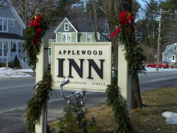 1. Applewood Inn, Freeport