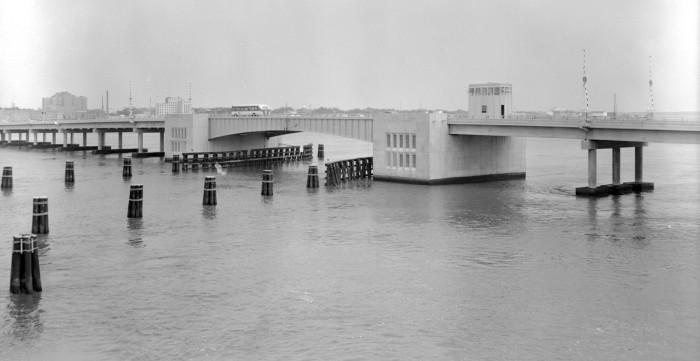 14. Charleston - The Ashley River Bridge August 15, 1961.