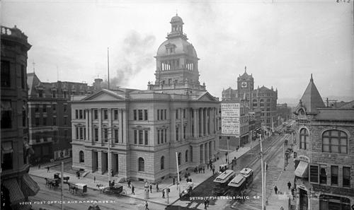 2. Denver Post Office and Arapahoe St.