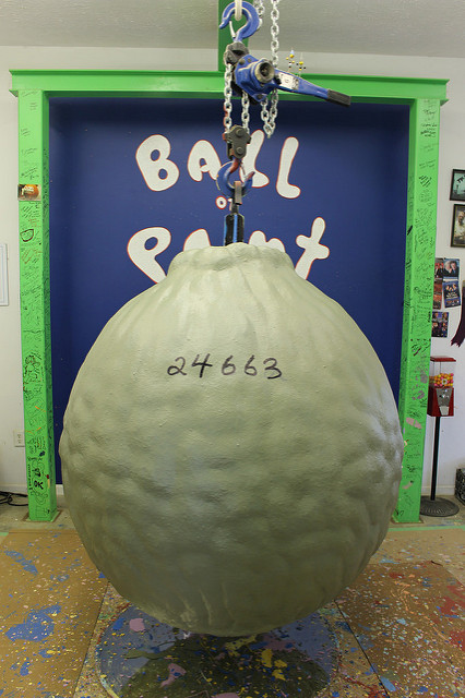 4. World's Largest Ball of Paint, Alexandria