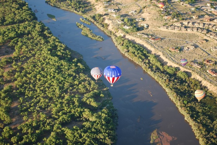 10. Take a hot air balloon ride.