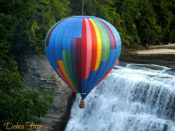 10. Balloons Over Letchworth
