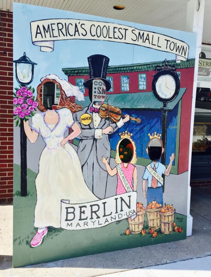 Berlin is full of town spirit! They take their 2014 title of America's coolest small town VERY seriously.
