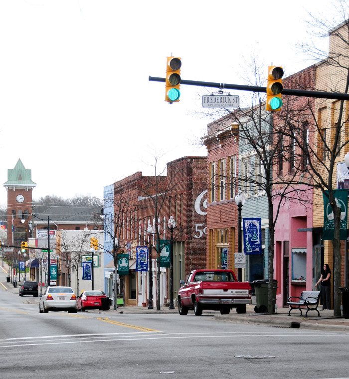 7. South Carolina has some of the BEST Main Streets in the country!