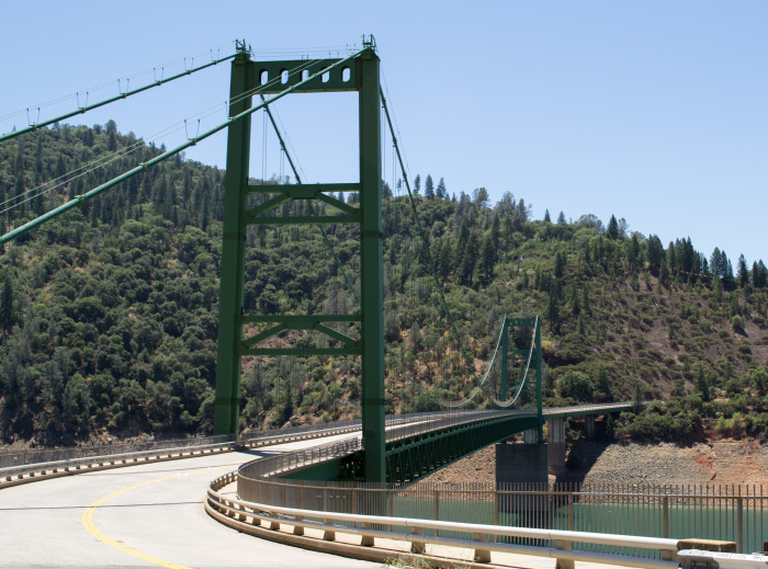 13. Bidwell Bar Suspension Bridge - Oroville