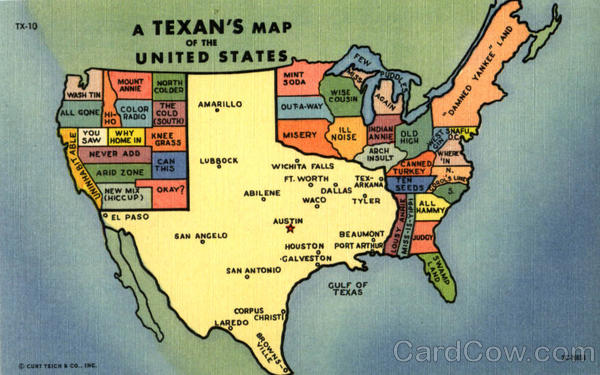 13. ...or dare to ask if everything is REALLY bigger in Texas, they're probably a tourist.