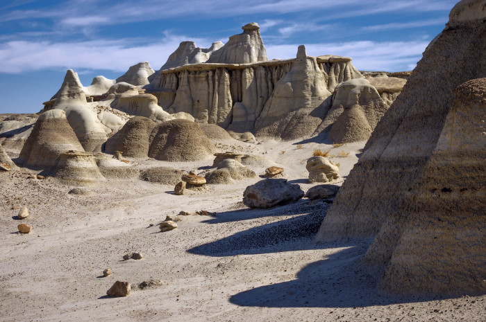1. Bisti Badlands, near Nageezi