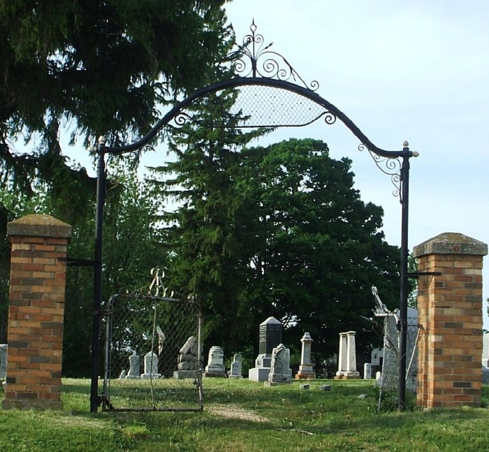 bloods point cemetery