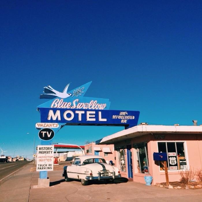 5. Blue Swallow Motel, 815 E Rt 66 Blvd, Tucumcari