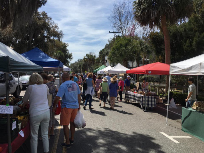 8. In 2015, the American Farmland Trust ranked the Farmers Market of Bluffton #20 in the nation for their People's Choice Award.