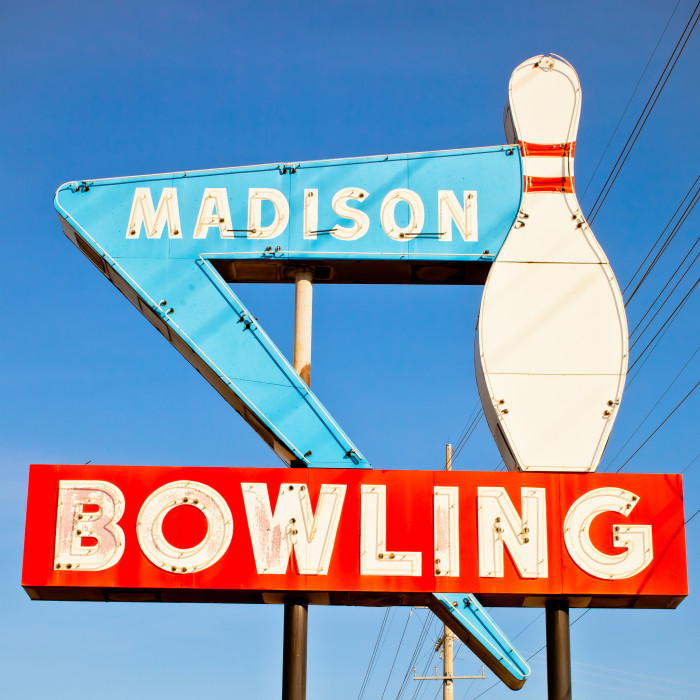 3. Bowling on the sidewalk is illegal.