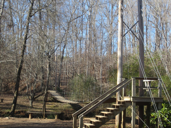 """If you're ever in the Fort Mill, SC area, """"swing"""" by Ann Springs Close Greenway."""