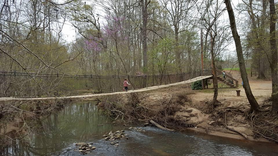 Everyone In South Carolina Should Visit This Swinging Bridge