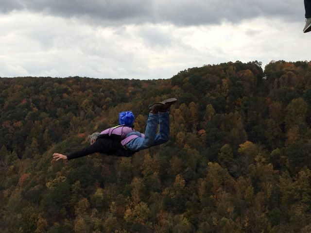 4. You've seen people jump off the New River Gorge Bridge on Bridge Day.